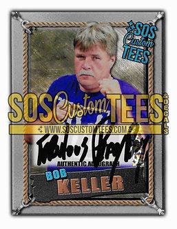 Bob Keller Autographed Memorabilia Trading Card - Silver
