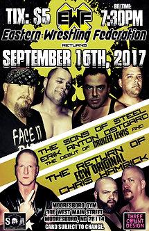 EWF: September 16th,  2017