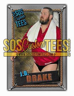 James D. Drake Memorabilia Trading Card - Silver