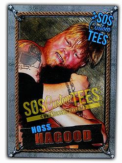 Hoss Hagood Memorabilia Trading Card - Silver