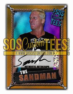Sandman Autographed Memorabilia Trading Card - Violet