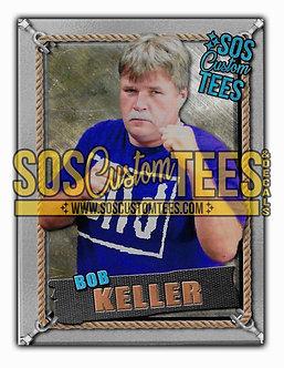 Bob Keller Memorabilia Trading Card - Silver