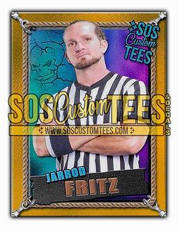 Jarrod Fritz Memorabilia Trading Card - Violet