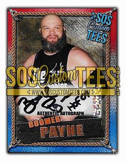 Boomer Payne Autographed Memorabilia Trading Card - USA