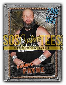 Boomer Payne Memorabilia Trading Card - Silver