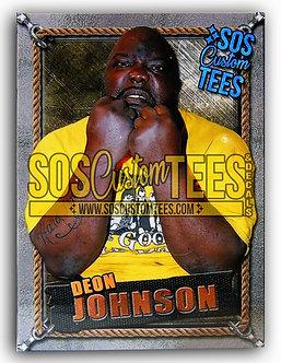 Deon Johnson Memorabilia Trading Card - Silver