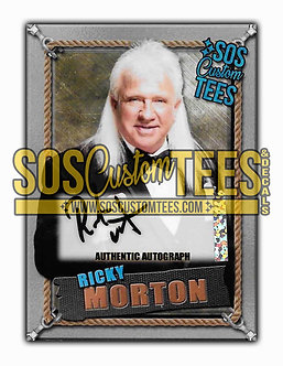 Ricky Morton Autographed Memorabilia Trading Card - Silver