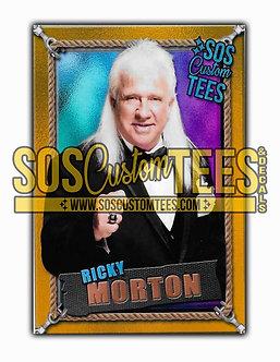 Ricky Morton Memorabilia Trading Card - Violet