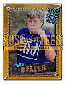 Bob Keller Memorabilia Trading Card - Gold