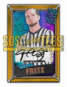 Jarrod Fritz Autographed Memorabilia Trading Card - Violet