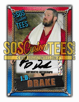 James D. Drake Autographed Memorabilia Trading Card - USA