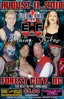 EWF: Lightning Strikes 2018