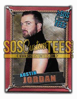 Austin Jordan Memorabilia Trading Card - Bronze