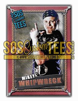 Mikey Whipwreck Memorabilia Trading Card - Bronze
