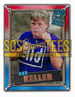 Bob Keller Memorabilia Trading Card - USA