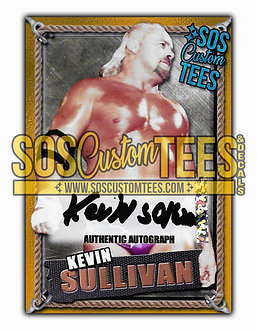 Kevin Sullivan Autographed Memorabilia Trading Card - Gold