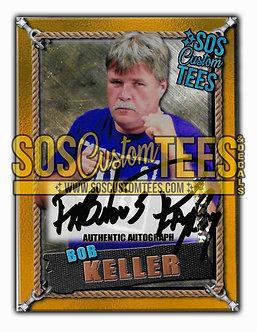 Bob Keller Autographed Memorabilia Trading Card - Gold