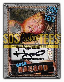 Hoss Hagood Autographed Trading Card - Silver