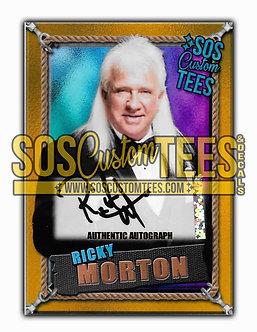 Ricky Morton Autographed Memorabilia Trading Card - Violet