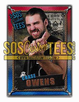 Chase Owens Memorabilia Trading Card - USA