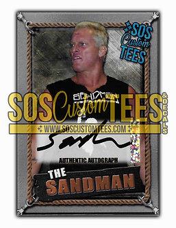 Sandman Autographed Memorabilia Trading Card - Silver