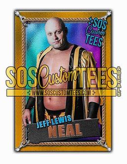 Jeff Lewis Neal Memorabilia Trading Card - Violet