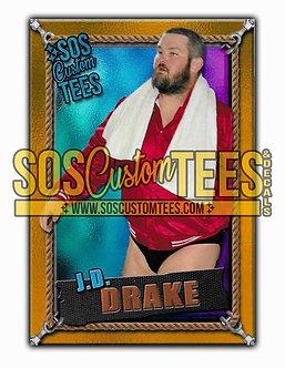 James D. Drake Memorabilia Trading Card - Violet