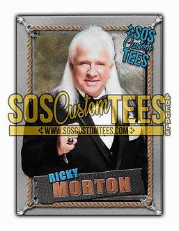 Ricky Morton Memorabilia Trading Card - Silver