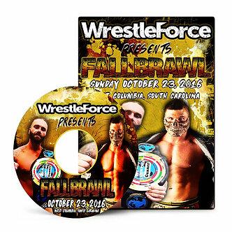 WrestleForce: FALL BRAWL 2016