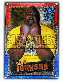 Deon Johnson Trading Card - USA