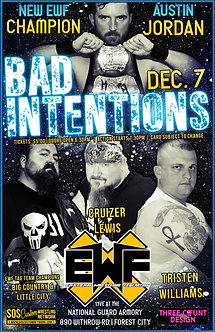 EWF: Bad Intentions 2019