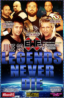 EWF: Legends Never Die 2019