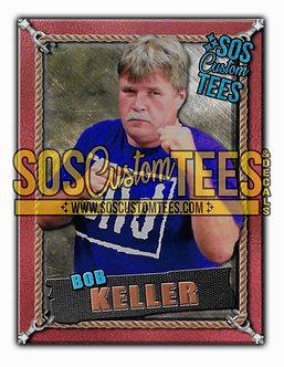 Bob Keller Memorabilia Trading Card - Bronze