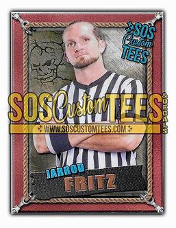 Jarrod Fritz Memorabilia Trading Card - Bronze