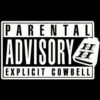 Hoss Hagood - Explicit Cowbell Decal