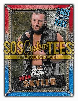 John Skyler Memorabilia Trading Card - USA