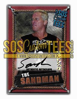 Sandman Autographed Memorabilia Trading Card - Bronze