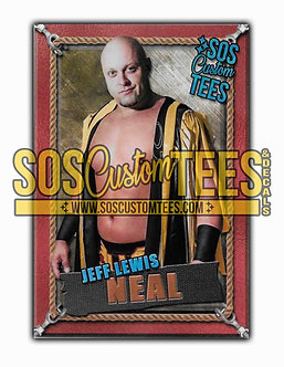 Jeff Lewis Neal Memorabilia Trading Card - Bronze