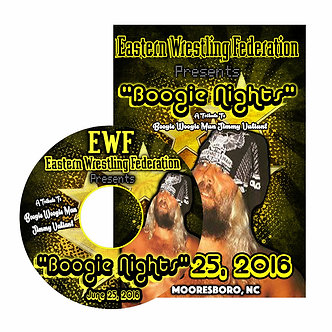 EWF Presents Boogie Nights 2016