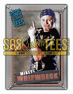 Mikey Whipwreck Memorabilia Trading Card - Silver