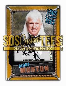 Ricky Morton Autographed Memorabilia Trading Card - Gold