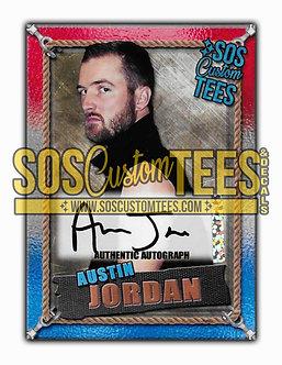 Austin Jordan Autographed Memorabilia Trading Card - USA