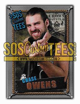 Chase Owens Memorabilia Trading Card - Silver