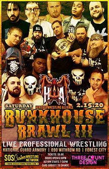 HWA: Bunkhouse Brawl 3 2020