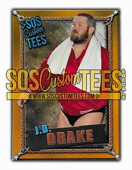 James D. Drake Memorabilia Trading Card - Gold