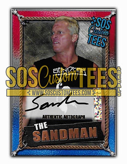 Sandman Autographed Memorabilia Trading Card - USA
