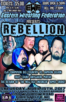 EWF: Rebellion 2017