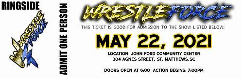WrestleForce St. Matthews - RINGSIDE