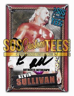 Kevin Sullivan Autographed Memorabilia Trading Card - Bronze