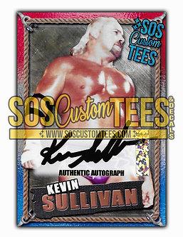 Kevin Sullivan Autographed Memorabilia Trading Card - USA